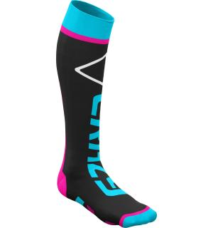 Crazy Carbon Socks BLACK TURQUOISE 35-38
