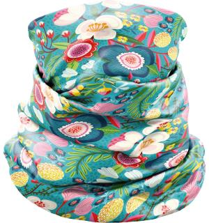 Neck Guard Crazy DARDIK FLOWER ONE SIZE